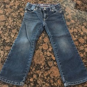 Crazy 8 girls Bootcut 4T Jeans